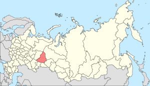 Sverdlovsk Oblast, where Verkhnee Dubrovo is located (Wiki Commons)
