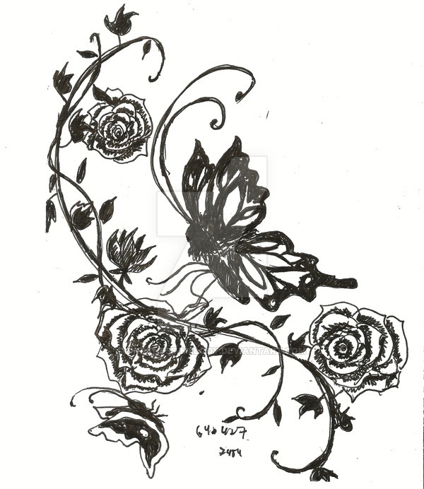 Rose Tattoo Drawing At Getdrawingscom Free For Personal Use Rose