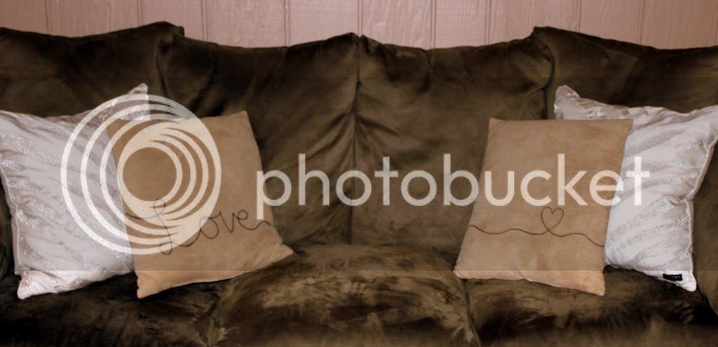 DIY Sharpie Love Pillows