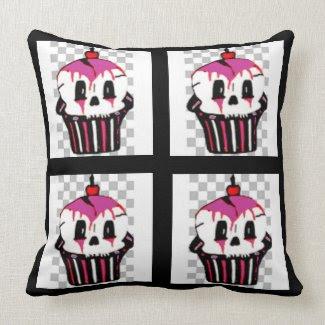 Gothic Cupcake Pillow mojo_throwpillow