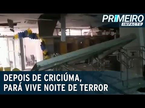 Após Criciúma, cidade do Pará é alvo de quadrilha de roubo a banco