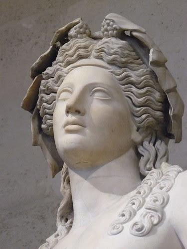 Bacchus Roman God of Wine or in Greek Dionysos Διόνυσος or Διώνυσος 2nd century CE (1)