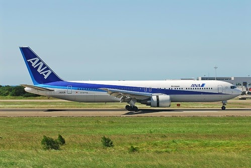 Airplane Pics Ana Boeing 763 Picture