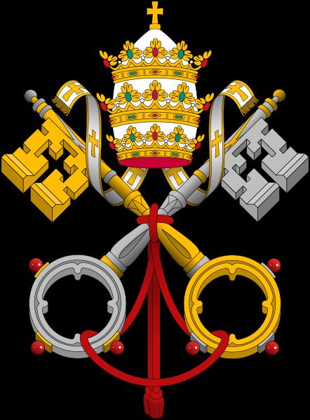 Archivo:Emblem of the Papacy SE.svg