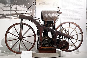 First motorcycle called