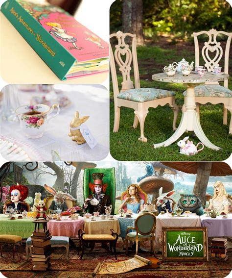 top  alice  wonderland wedding ideas tulle