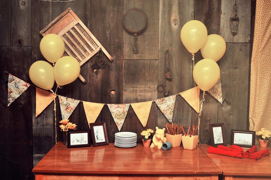 Tessas Winnie The Pooh Themed Baby Shower Domestic Geek Girl