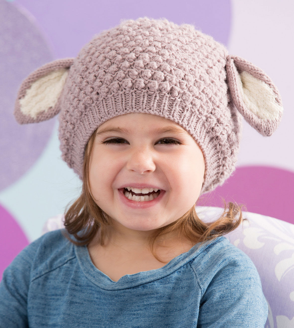 Free Knitting Pattern for Cozy Lamb Hat