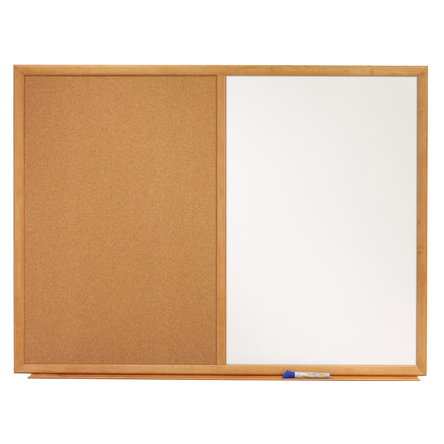 Quartet Standard Combination Whiteboardcork Bulletin Board 4 X 3