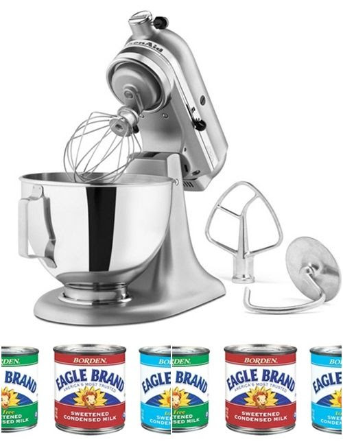 KitchenAid Stand Mixer and Eagle Brand giveaway from @bakeat350