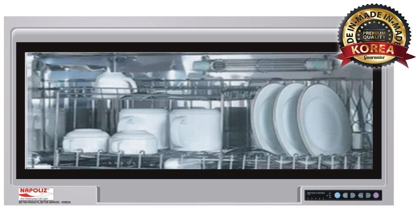Giới thiệu những tiện ích độc đáo của sản phẩm máy sấy bát Napoliz