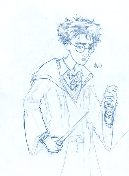 sketch harry