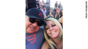 Couple who survived Las Vegas shooting die in car crash