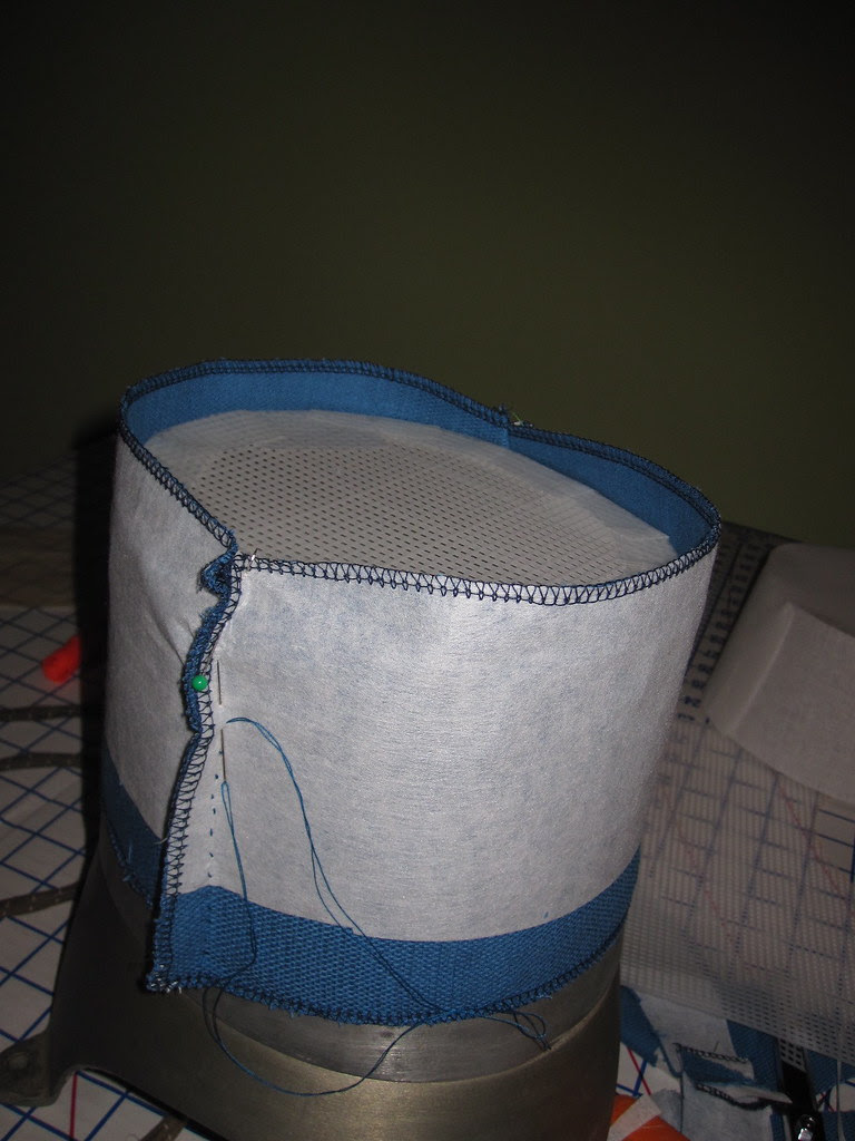 Sew Together Outer Fabric