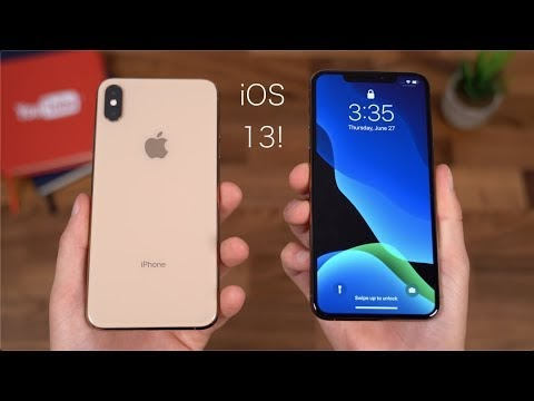 iOS 13 beta for iPhones