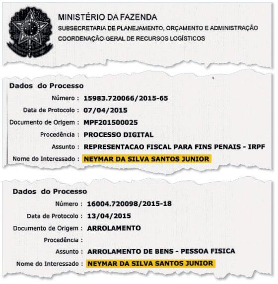 Resultado de imagem para neymar sonegador