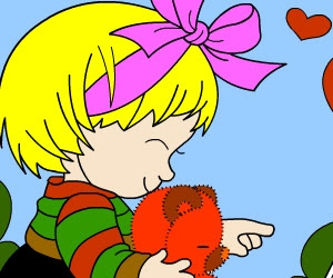 Minik Kız Boyama Oyunları Minik Kiz Boyama Oyunu Oyna Minik Kız