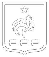 Coloriages Equipe De France De Football Bonjour Les Enfants