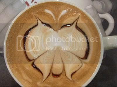 coffee art butterfly Pictures, Images and Photos