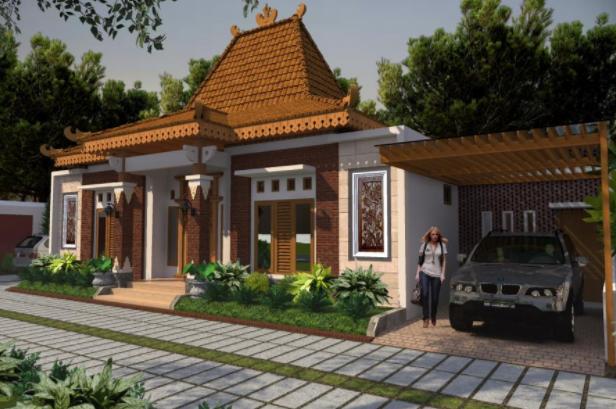 35 Gambar Rumah Joglo Modern Baru Terlengkap 1 Desain