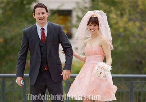 Rachel McAdams Short Pink Wedding Dress In Movie ?The Vow