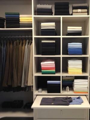 Segundo Rosângela, as roupas preferidas e mais usadas devem ficar nos cabides (Foto: Domus Organizzare/ Divulgação)