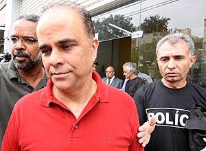 Marcos Valério, quando foi preso em dezembro de 2011