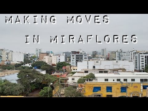 Travel vlog #1 Itinerary drops us in Miraflores and Tony and Madelin explore for us.