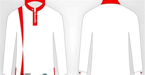 desain baju kemeja organisasi keren kammi langsa format