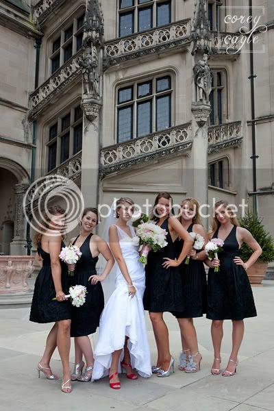 Bridesmaids at Biltmore Estate