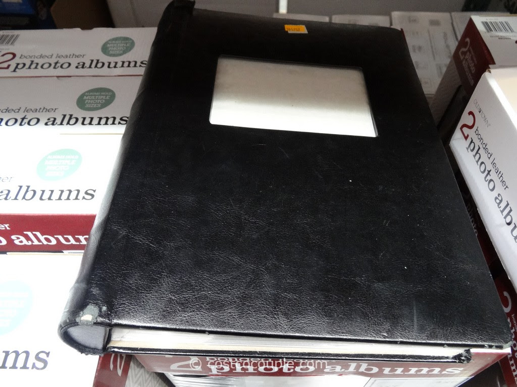 Old Town Bonded Leather Photo Album