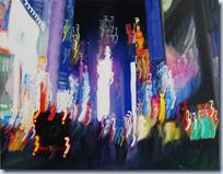 Blurry Oil Paintings