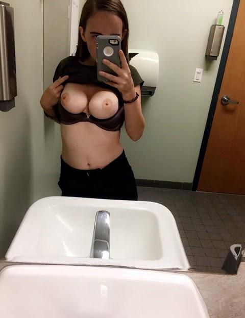 Nude Selfies At Work - Hot 12 Pics | Beautiful, Sexiest