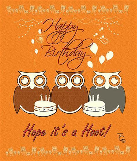 Hope It?s A Hoot Birthday. Free Birthday Wishes eCards