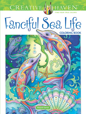 Image result for Creative Haven Fanciful Sea Life Coloring Book