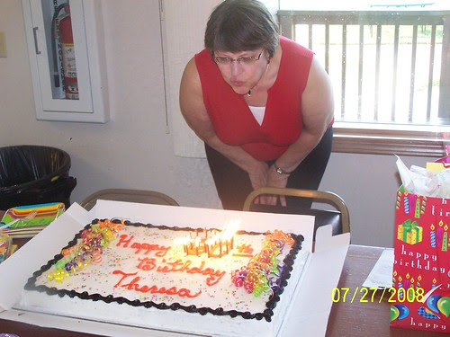 Blowing out the candles...again