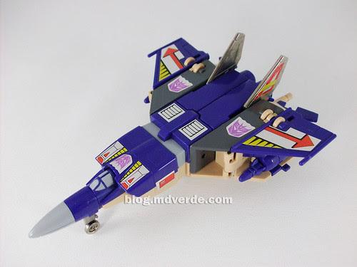 Transformers Blitzwing G1 - modo jet