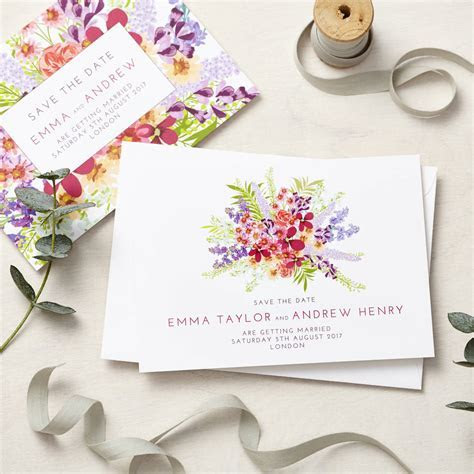 secret garden wedding stationery sample pack by lucy says