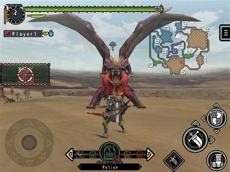 Monster Hunter Freedom Unite for iOS now available   Gematsu