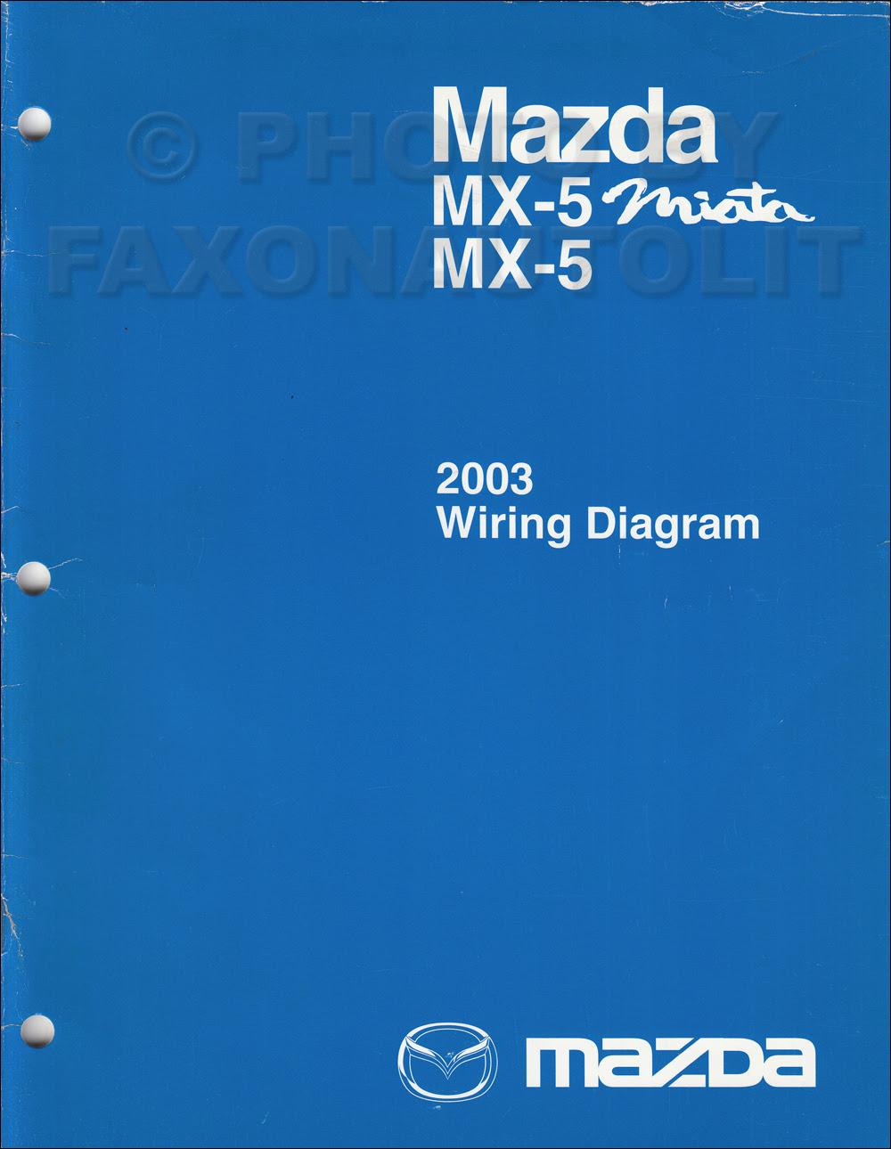 DIAGRAM 1997 Mazda Mx 5 Miata Wiring Diagram Original ...