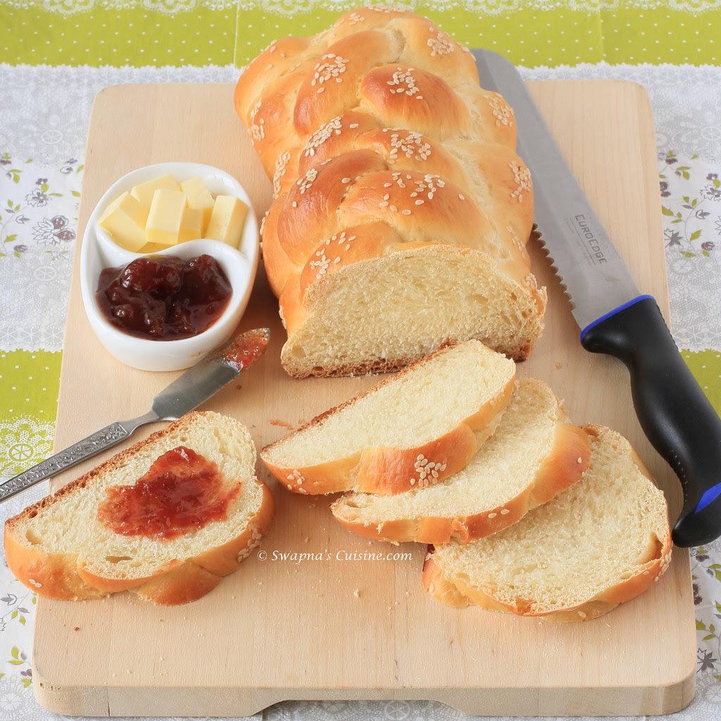 Honey White Challah Bread