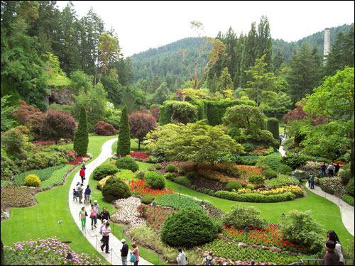 Sunken Garden, Butchart Gardens
