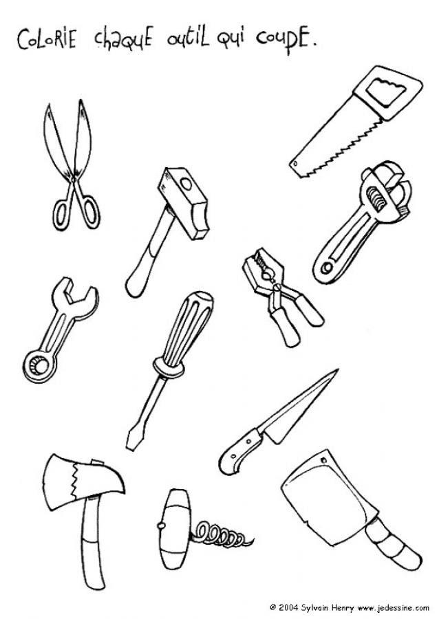 Dibujo De Carpintero Para Colorear 6 Dibujos De Oficios Y Trabajos