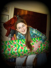 Some presents are REALLY Heavy!