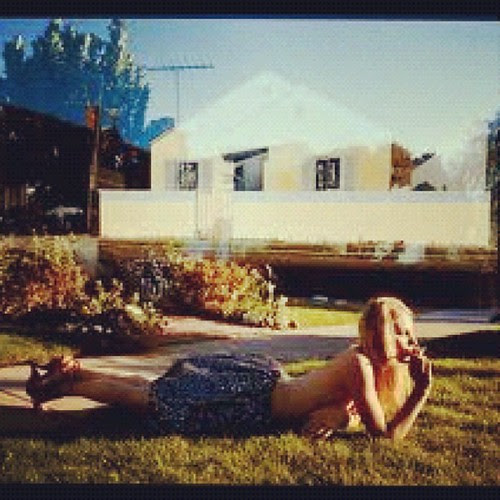 """{Day 14} #Grass ... """"Grassy Girl"""" by Tierney Gearon...still trying to figure out where to hang her #mayphotoaday"""