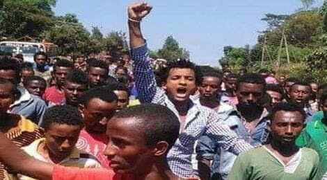 """Résultat de recherche d'images pour """"la rébellion des Oromo"""""""