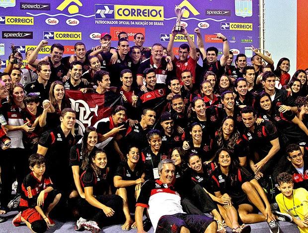 patricia amorim flamengo campeão troféu maria lenk (Foto: Satiro Sodré / Agif)