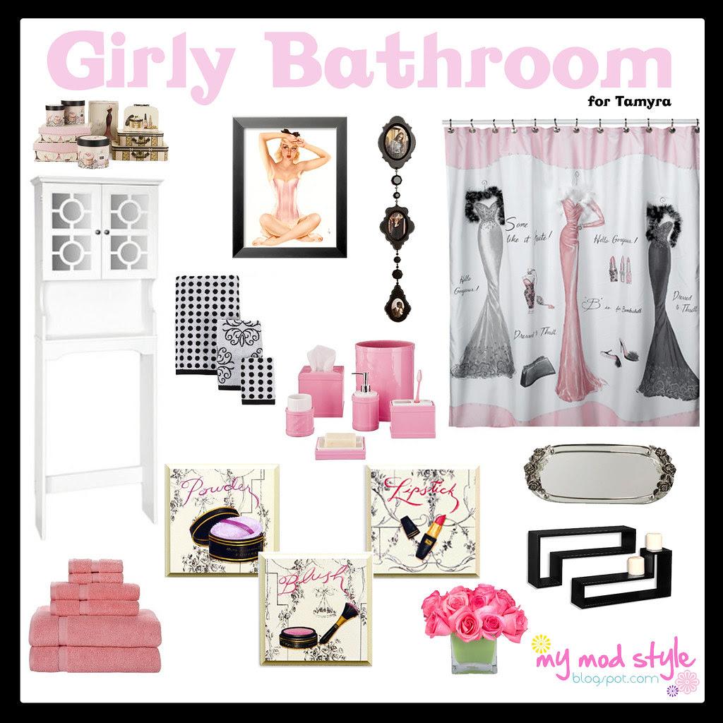 girly bathroom for Tee 2