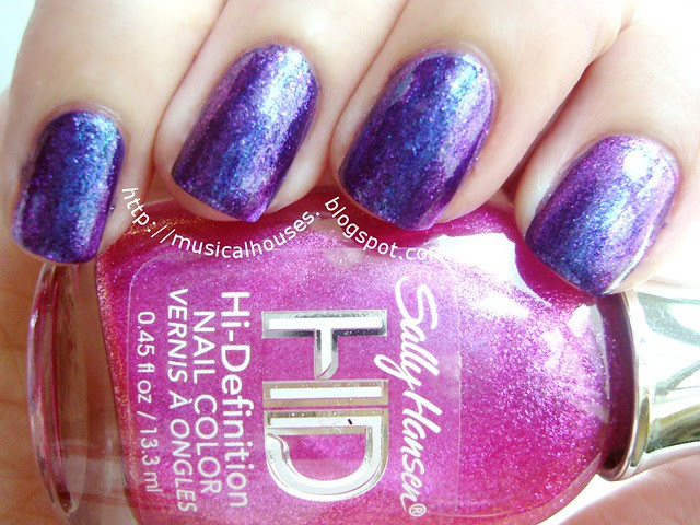 duochrome manicure sally hansen dvd spectrum nails inc belgrave place 1