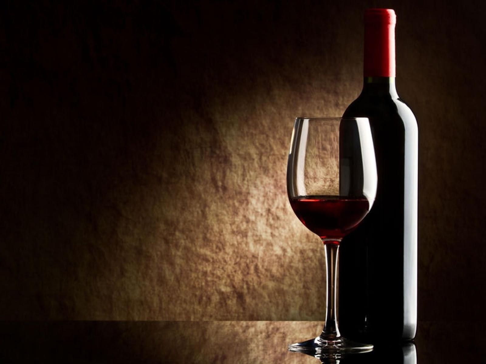 Wallpaper Wine Red Bottle Glass Hd Desktop Wallpapers